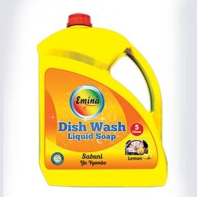 5 Litres - EMINA Dishwashing Liquid Soap