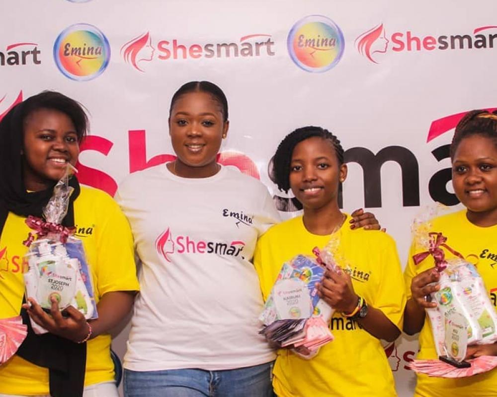 Tunapenda kutoa pongezi za dhati Kwa washindi wote wa #shesmart2020